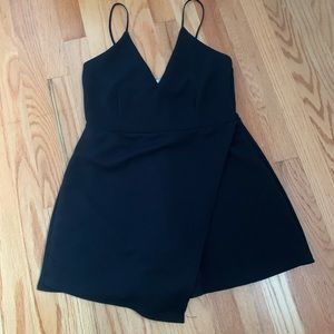 Missguided Black Romper